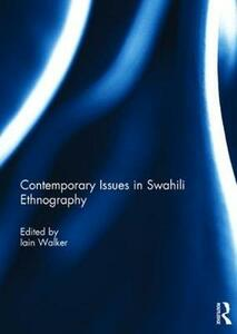 Contemporary Issues in Swahili Ethnography - cover