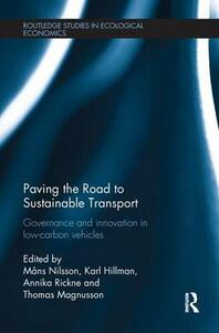 Paving the Road to Sustainable Transport: Governance and innovation in low-carbon vehicles - cover