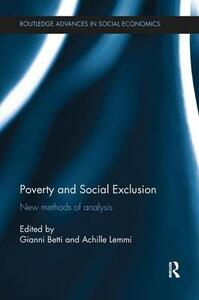 Poverty and Social Exclusion: New Methods of Analysis - cover