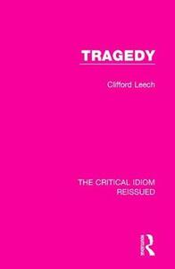 Tragedy - Clifford Leech - cover