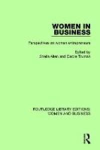 Women in Business: Perspectives on Women Entrepreneurs - Carole Truman - cover
