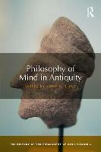 Philosophy of Mind in Antiquity: The History of the Philosophy of Mind, Volume 1 - cover