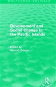 : Development and Social Change in the Pacific Islands (1989) - cover