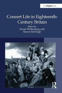 Concert Life in Eighteenth-Century Britain - cover