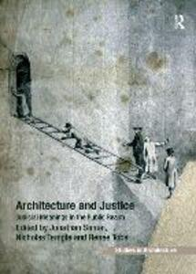 Architecture and Justice: Judicial Meanings in the Public Realm - Jonathan Simon - cover