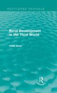 Rural Development in the Third World - Chris Dixon - cover