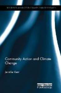 Community Action and Climate Change - Jennifer Kent - cover