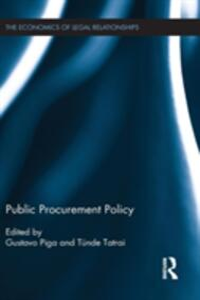 Public Procurement Policy - cover