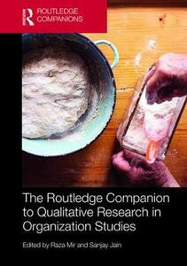 The Routledge Companion to Qualitative Research in Organization Studies - cover