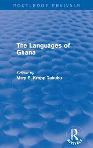 The Languages of Ghana - cover