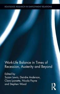 Work-Life Balance in Times of Recession, Austerity and Beyond - cover