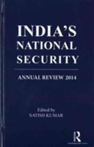 India's National Security: Annual Review 2014 - cover