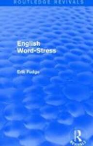 English Word-Stress - Erik Fudge - cover