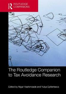 The Routledge Companion to Tax Avoidance Research - cover