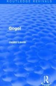 Gogol - Janko Lavrin - cover