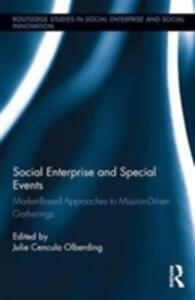 Social Enterprise and Special Events - cover