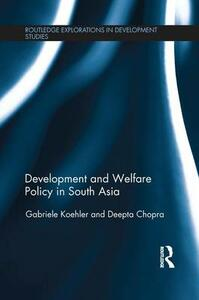 Development and Welfare Policy in South Asia - cover