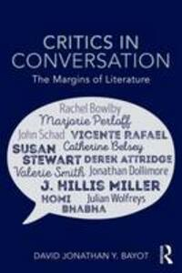 Critics in Conversation: The Margins of Literature - David Bayot - cover