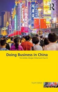 Doing Business in China - Tim Ambler,Morgen Witzel,Chao Xi - cover