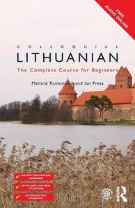 Colloquial Lithuanian: The Complete Course for Beginners - cover
