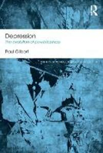 Depression: The Evolution of Powerlessness - Paul Gilbert - cover