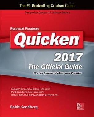 Quicken 2017 the Official Guide - Bobbi Sandberg - Libro in lingua
