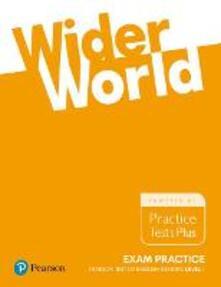 Wider World Exam Practice: Pearson Tests of English General Level 1(A2) - Liz Kilbey,Marta Uminska,Beata Trapnell - cover