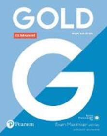 Gold C1 Advanced New Edition Exam Maximiser with Key - Lynda Edwards,Jacky Newbrook - cover