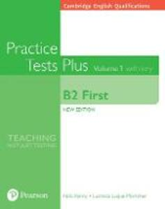 Libro in inglese Cambridge English Qualifications: B2 First Volume 1 Practice Tests Plus with key Nick Kenny Lucrecia Luque-Mortimer Lucrecia Luque Mortimer