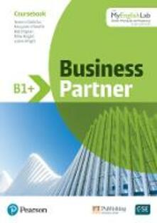 Business Partner B1+ Intermediate+ Student Book with MyEnglishLab, 1e: Industrial Ecology - Iwona Dubicka,Margaret O'Keeffe,Lizzie Wright - cover
