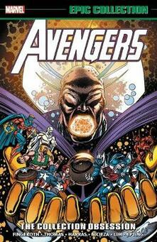 Avengers Epic Collection: The Collection Obsession - Bob Harras,Scott Lobdell,Fabian Nicieza - cover