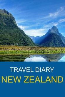 Travel Diary New Zealand - Roger Jubblington - copertina