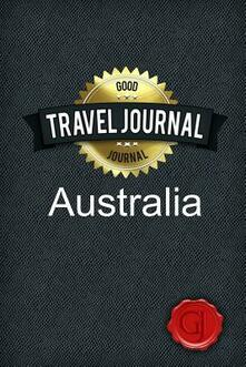 Travel Journal Australia - copertina