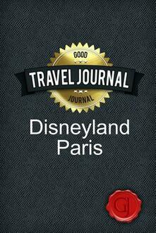 Travel Journal Disneyland Paris - copertina