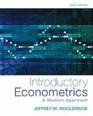 Libro in inglese Introductory Econometrics: A Modern Approach Jeffrey Wooldridge