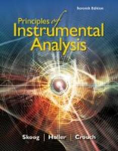 Principles of Instrumental Analysis - Stanley Crouch,Douglas Skoog,F Holler - cover