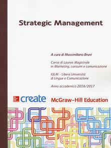 Strategic management - copertina