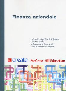 Finanza aziendale - copertina
