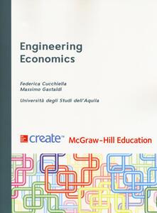 Engineering economics - copertina
