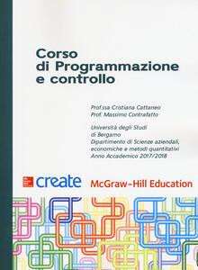 Corso di programmazione e controllo - copertina