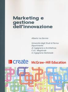 Marketing e gestione dell'innovazione - copertina