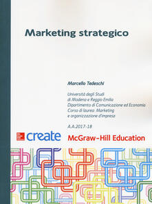 Marketing strategico - Marcello Tedeschi - copertina