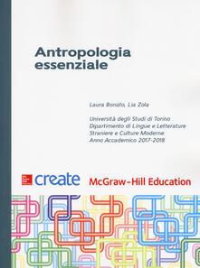 Antropologia essenziale - copertina