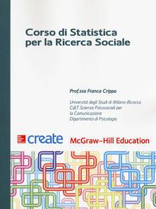 Ristorantezintonio.it Corso di statistica per la ricerca sociale Image