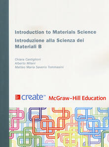 Introduction to materials science - copertina