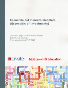 Economia del mercato mobiliare. Ediz. inglese. Con connect - copertina