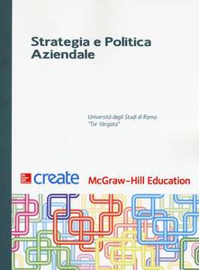 Strategia e politica aziendale - copertina