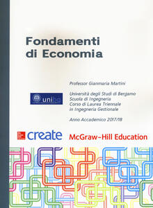 Fondamenti di economia. Con connect - Gianmaria Martini - copertina