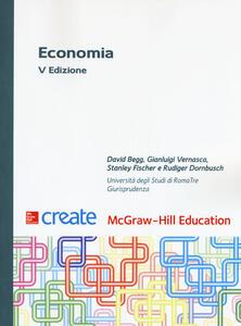 Economia. Con Connect - David Begg,Gianluigi Vernasca,Stanley Fischer - copertina