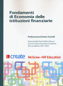 Fondamenti di economia delle istituzioni finanziarie. Con Connect